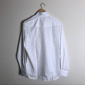 Essex Tops - Essex classics white English show shirt 40
